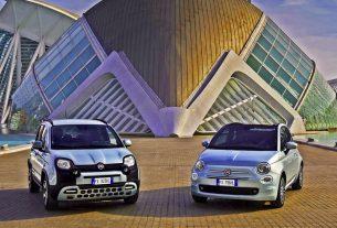 2020 Fiat 500 and Fiat Panda Hybrid