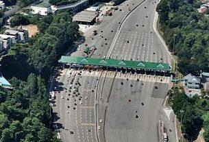 PLUS toll plaza