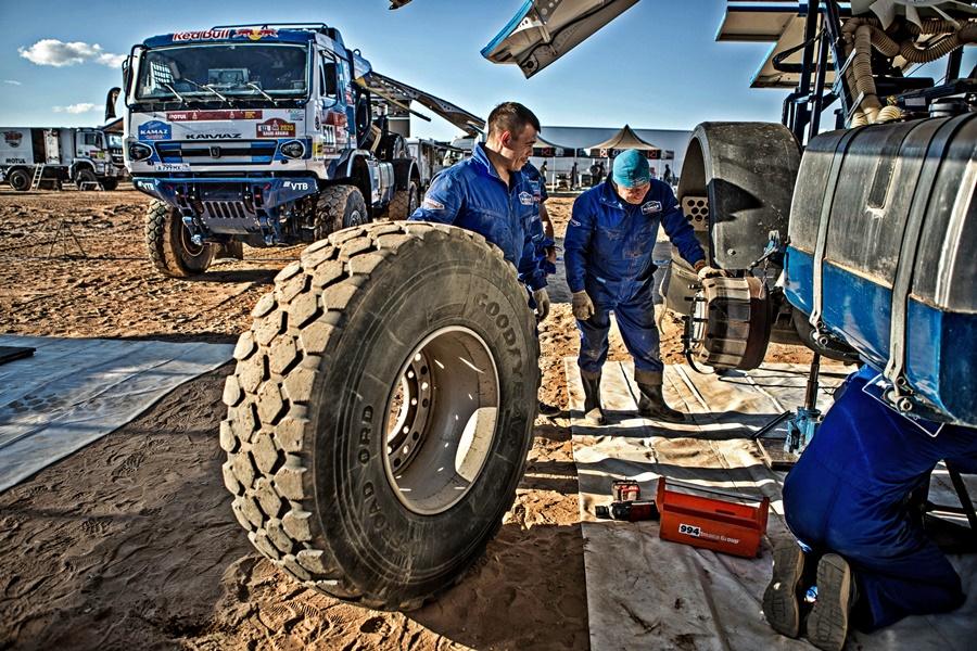 KAMAZ 2020 Dakar Rally Goodyear tyres