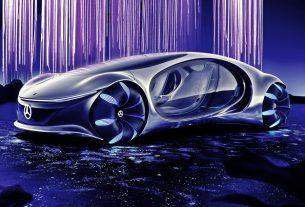 Mercedes-Benz VISION AVTR at CES 2020