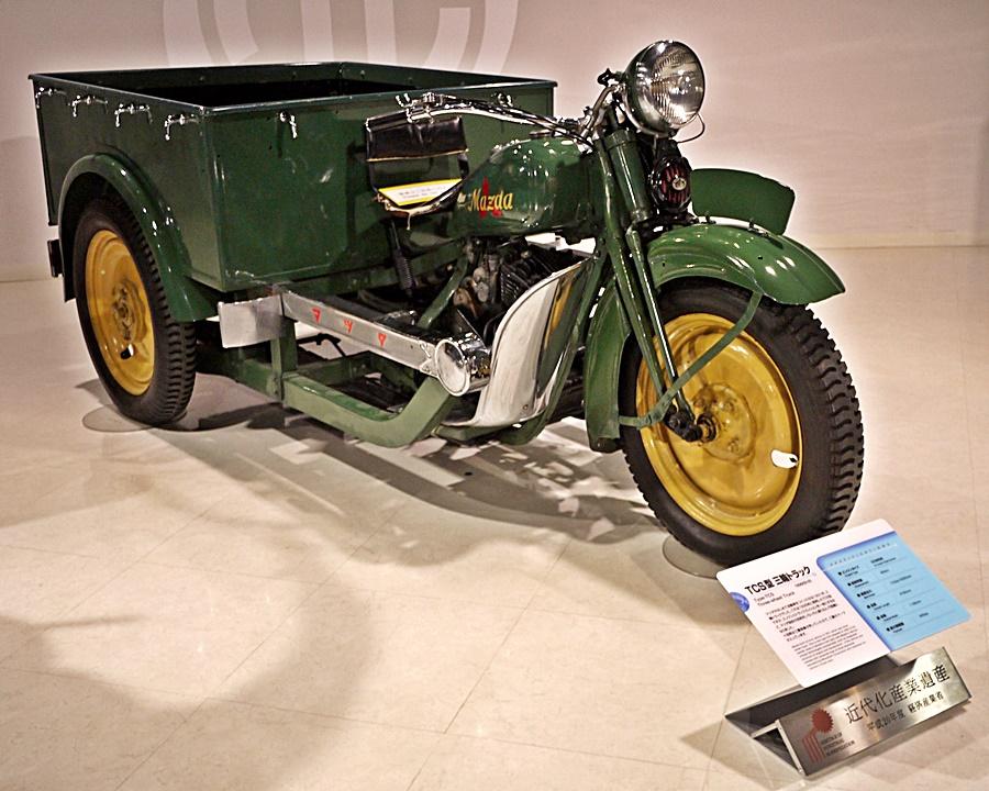First Mazda vehicle
