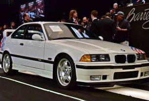 Paul Walker 1995 BMW M3 Lightweight