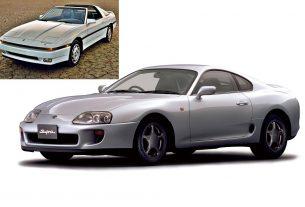 Toyota Supra A70 and A80
