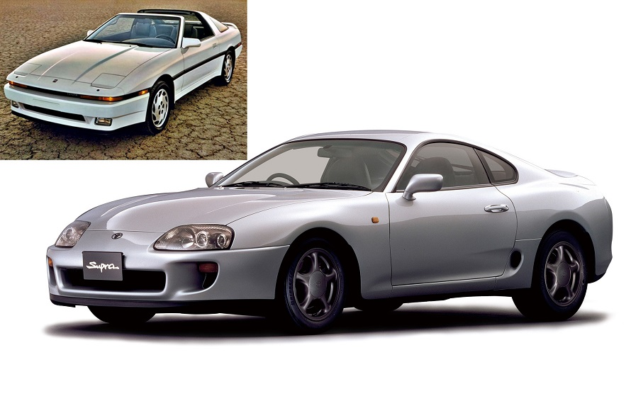 Toyota Supra A70 and A80