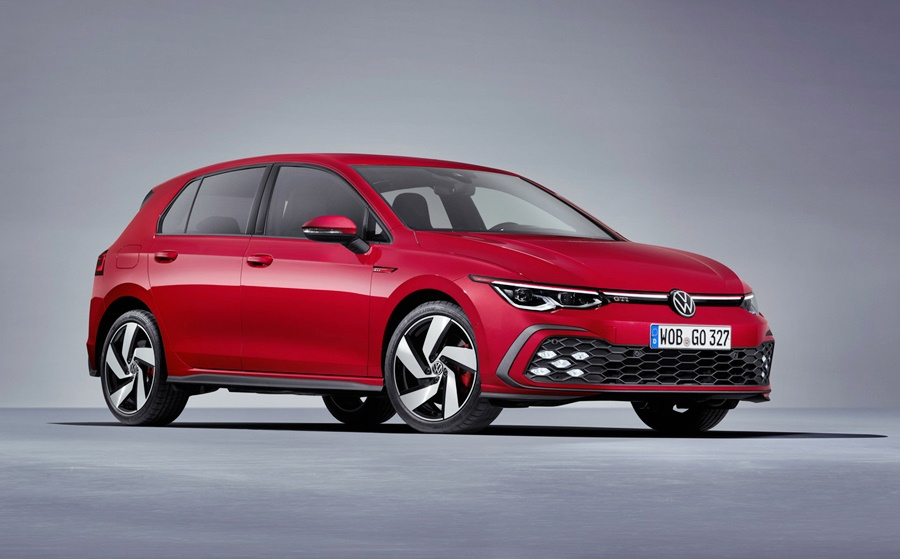 The new Volkswagen Golf GTI Mk 8