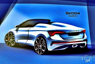2020 Skoda Student concept car