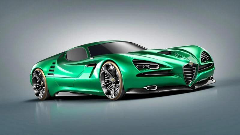 Alfa Romeo Montreal Vision GT concept