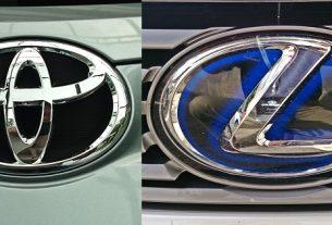 Toyota and Lexus