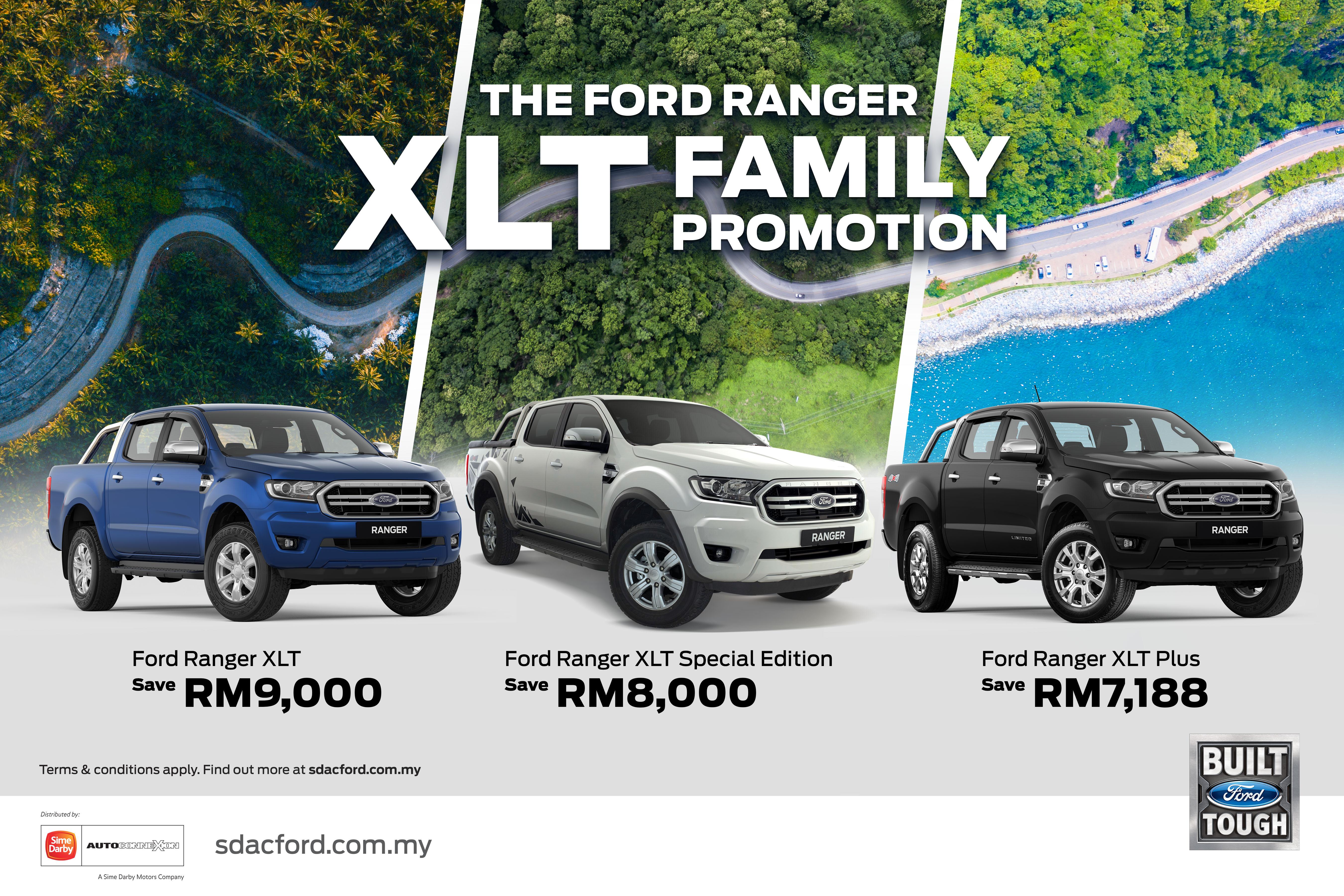 Ford Ranger XLT Promotion