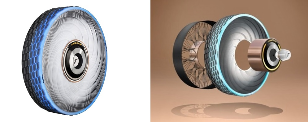 Goodyear reCharge concept tyre 2020