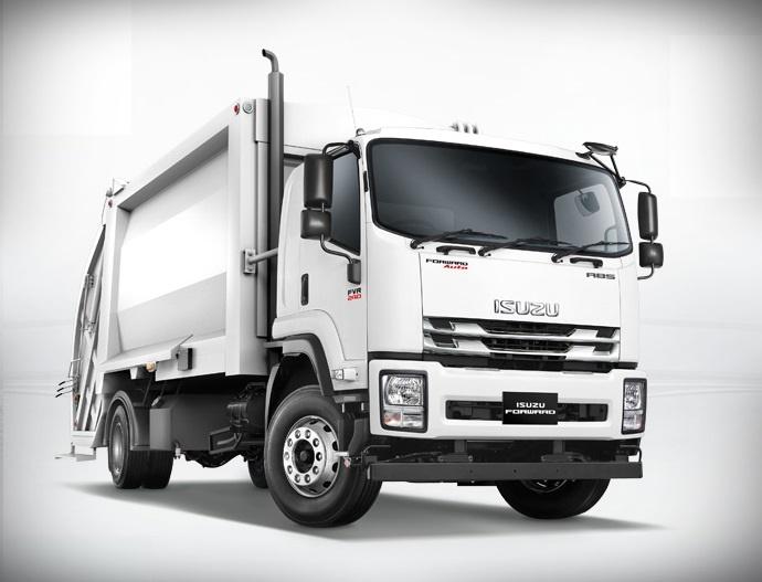 Isuzu FVR Compactor Truck