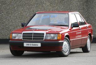 1990 Mercedes-Benz 190 EV
