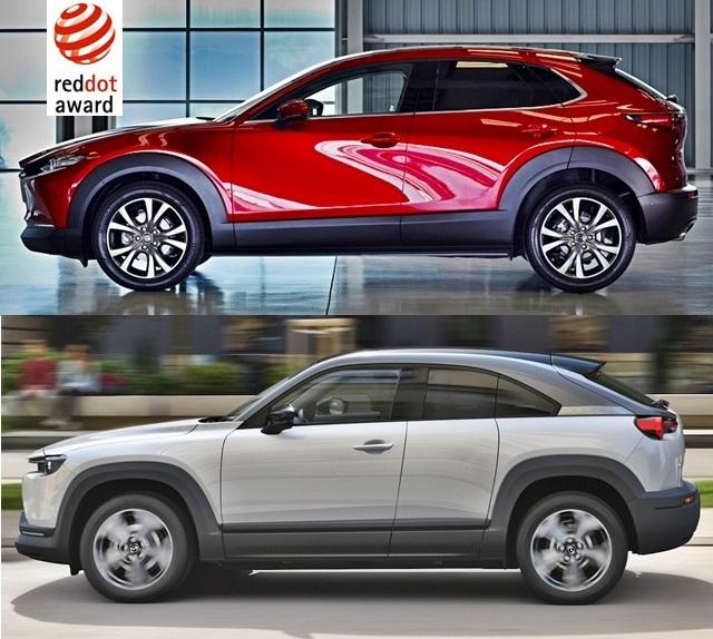 Mazda CX-30 and MX-30