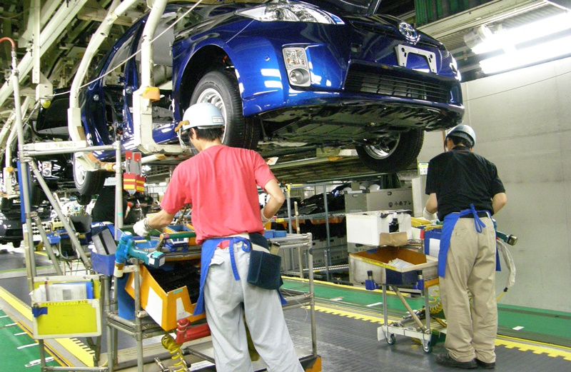 Toyota production line
