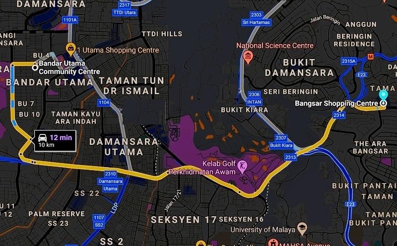 PDRM roadblock
