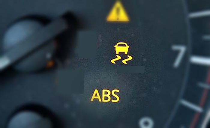 ABS VSC warning lights