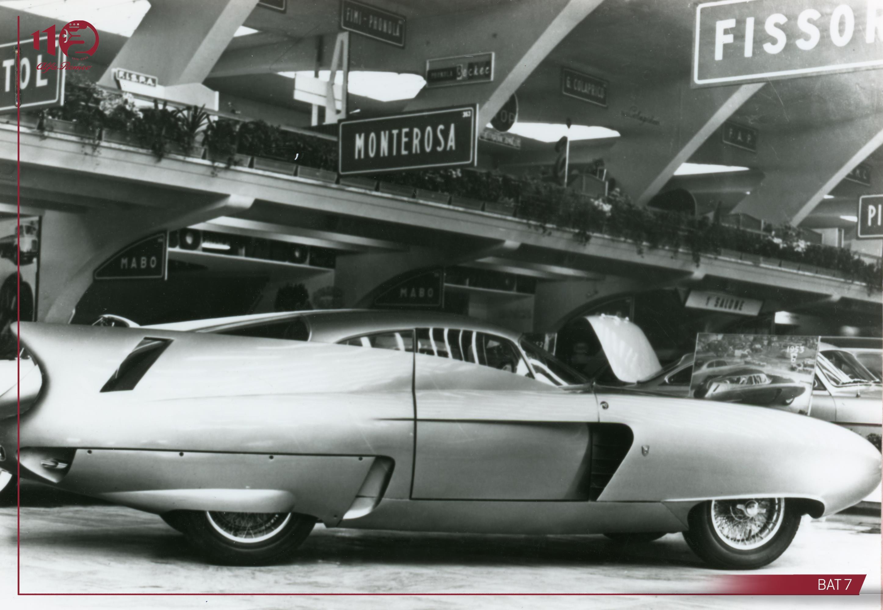 Alfa Romeo BAT-7 concept car