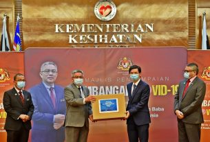 Geely donation to Malaysia