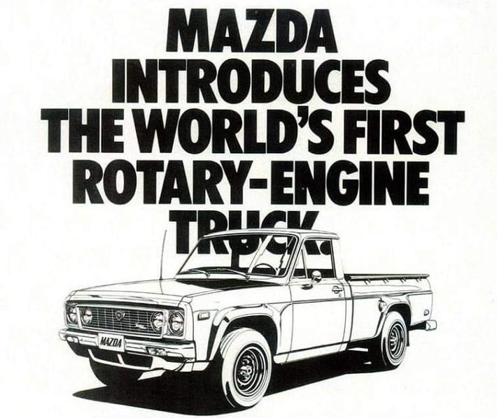 Mazda Rotary Pick-up