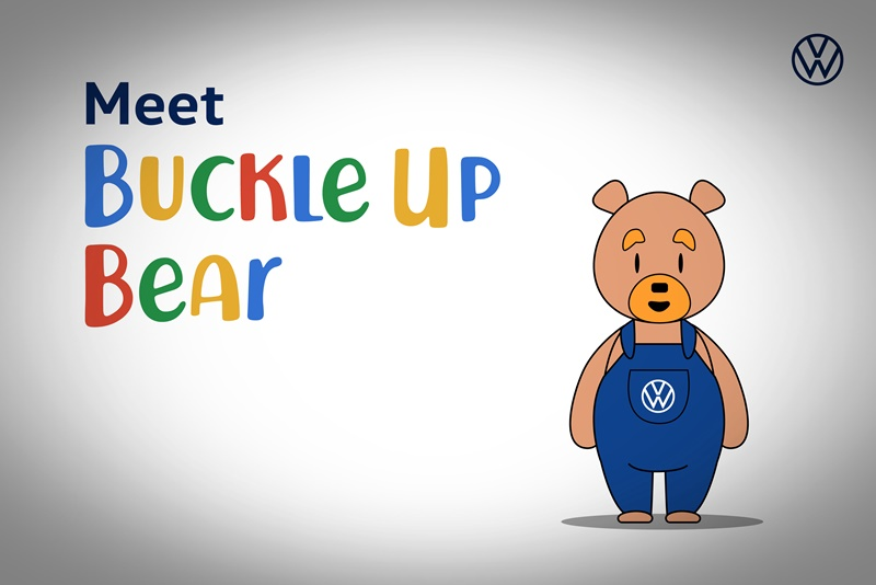 Meet Buckle Up Bear