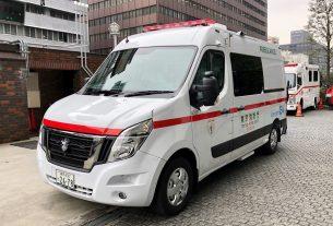 Nissan NV400 EV Ambulance interior