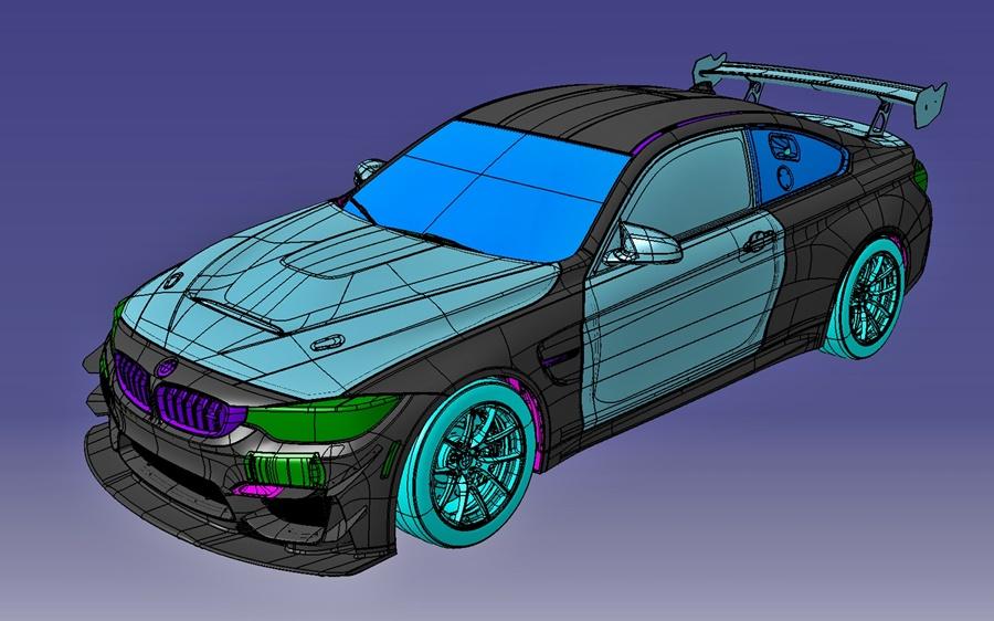iRacing BMW M4 GT4