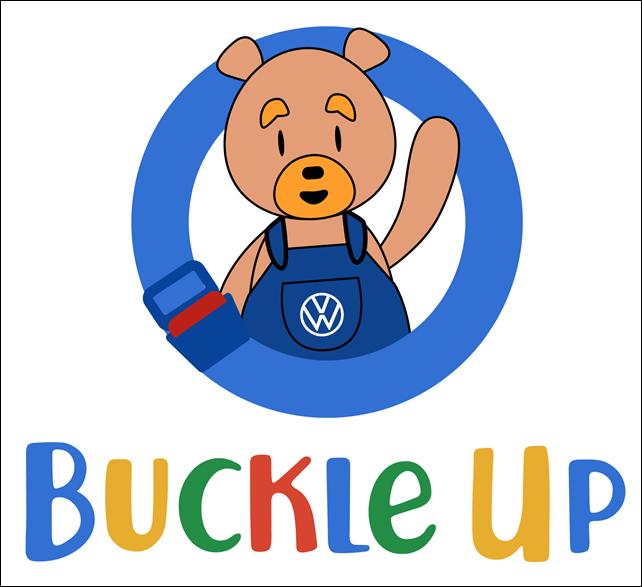 VW Meet Buckle Up Bear