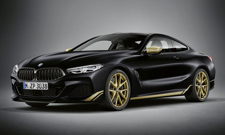 2020 BMW 8-Series Edition Golden Thunder