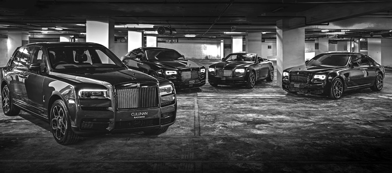 2020 Rolls-Royce Black Badge Family