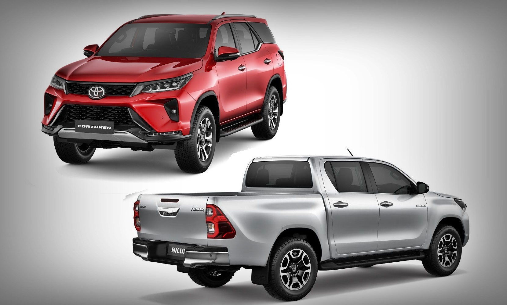 2020 Toyota Fortuner and Hilux
