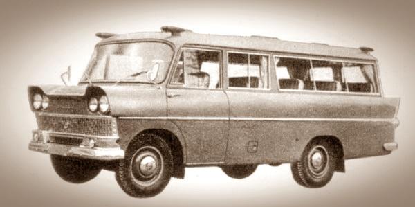 1960 Mazda D1500 Bus