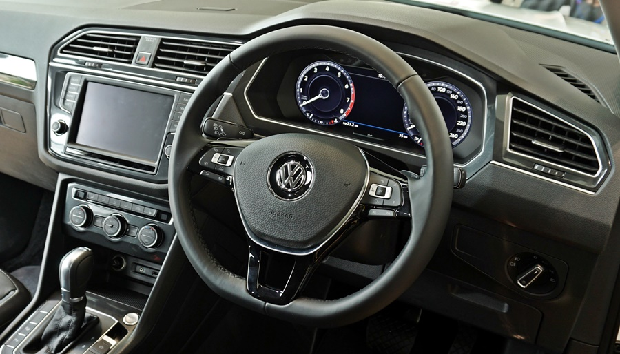 VW Tiguan Digital Cockpit