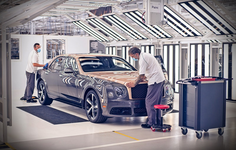 Last Bentley Mulsanne