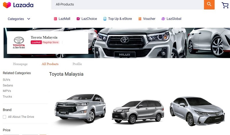 LazMall Toyota Flagship Store