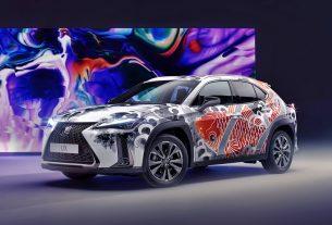 Lexus UX Tattooed Car