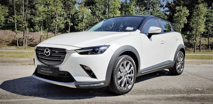 Mazda CX-3 Ltd Edition 100th anniversary