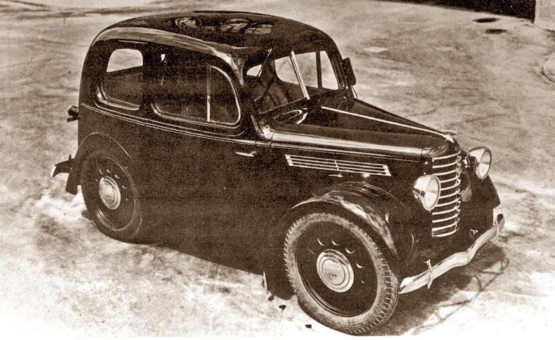 1940 Mazda Pkw prototype