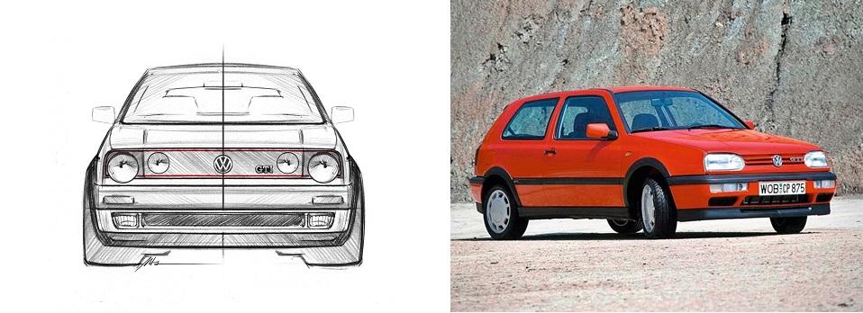VW Golf GTI Mk 2