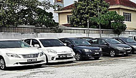 Uaed Car lot