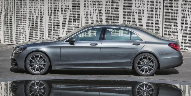 2017 Mercedes-Benz S-Class W222