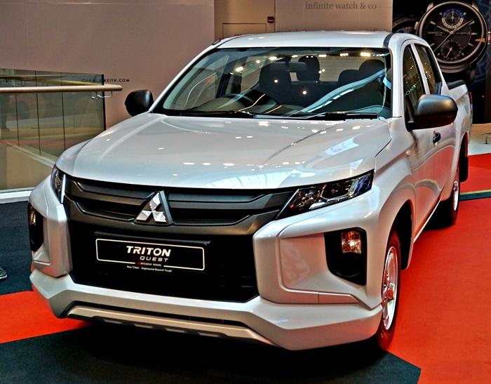2020 Mitsubishi Triton Quest
