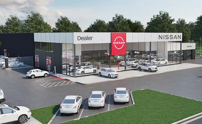 Future Nissan showroom