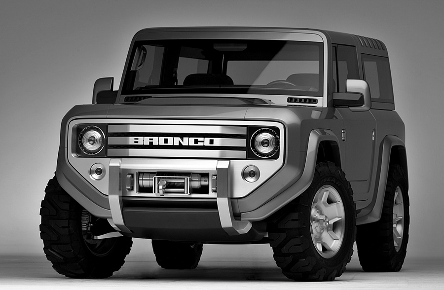 Ford Bronco Concept 2014