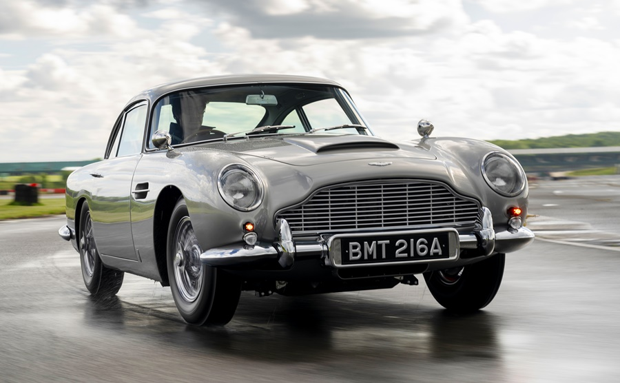 Aston Martin DB5 Goldfinger Edition