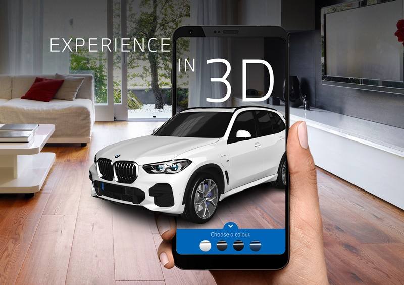 BMW Augmented Reality AR Experience