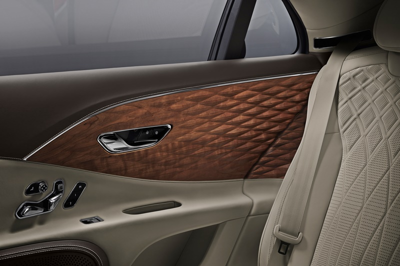 Bentley Three-Dimensional Wooden Trim