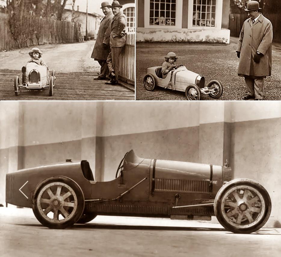 Bugatti T 52 Baby and Bugatti 35