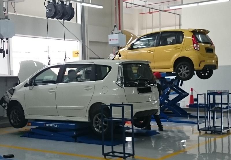 Perodua service centre