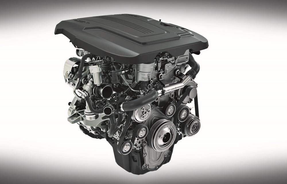 Jaguar 2-litre Ingenium engine