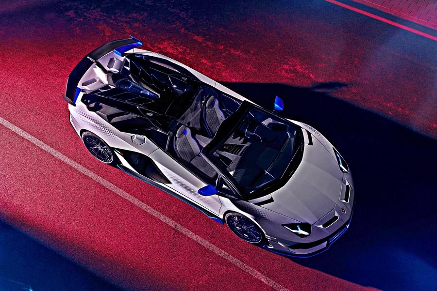 2020 Lamborghini Aventador SVJ Xago edition